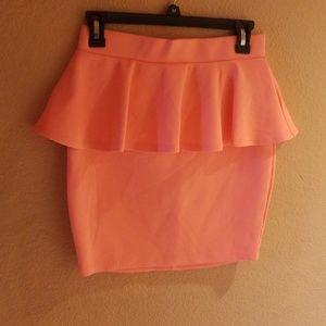BEBE Mini Pencil Skirt